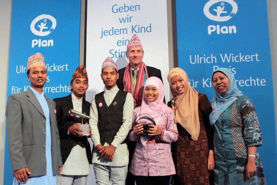 Ulrich Wickert Preis für Kinderrechte 2013 verliehen