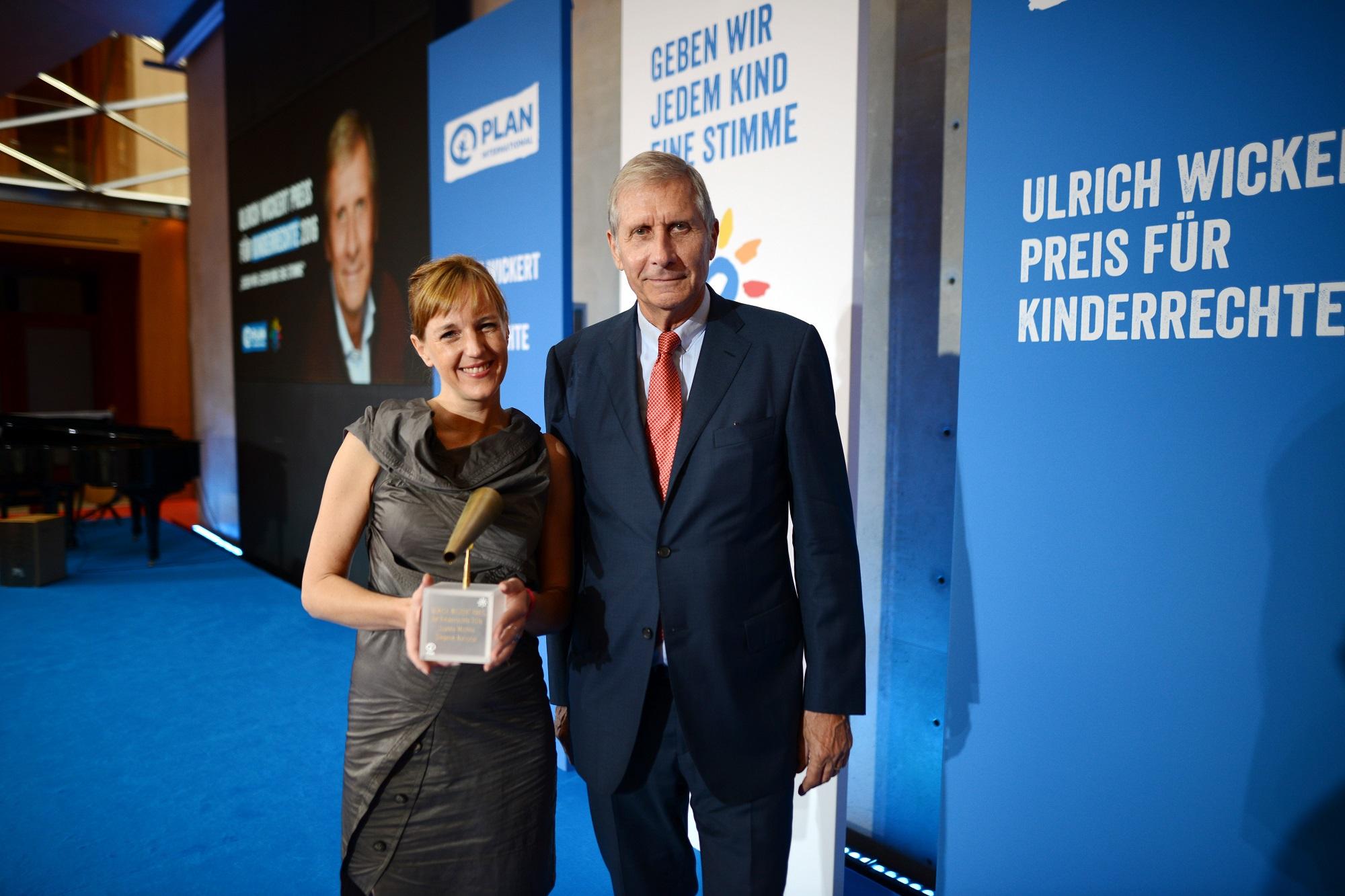 Ulrich Wickert Preis für Kinderrechte zum fünften Mal verliehen