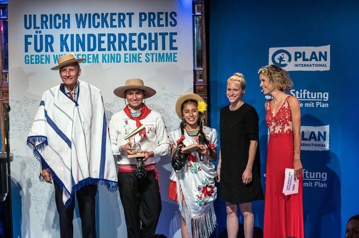 Ulrich Wickert Preis für Kinderrechte 2018 zum siebten Mal in Berlin verliehen