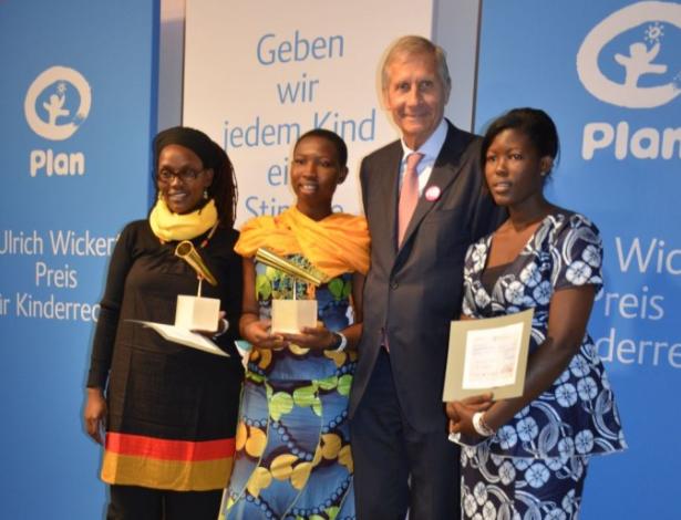 Ulrich Wickert Preis für Kinderrechte 2012 zum ersten Mal verliehen