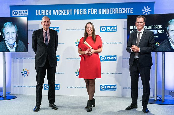 Journalist:innen mit Ulrich Wickert Preis für Kinderrechte 2020 geehrt