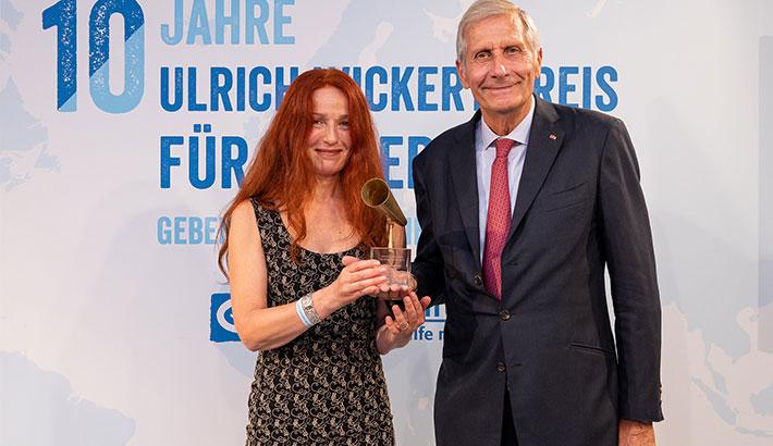 Ulrich Wickert Preis für Kinderrechte zum zehnten Mal in Berlin verliehen